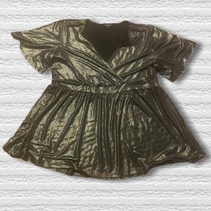 Torrid peplum dress top plus size 1